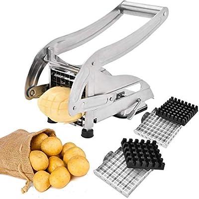 Sopito Coupe Frite, Coupe Frites INOX Professionnelle pour Les patates Douces