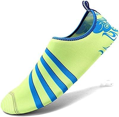 SAGUARO® Unisex de secado rápido de la aguamarina zapatos de agua piscina playa zapatos ejercicio de yoga