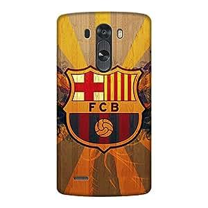 Abhivyakti Sports Fcb Hard Back Case Cover For LG G3