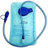 Outdoor locali Lion idratazione vescica acqua borsa 1L 1.5L 2litro serbatoio confezione zaino sistema escursioni campeggio arrampicata ciclismo, Blue (Blu) - Waterbag-1L