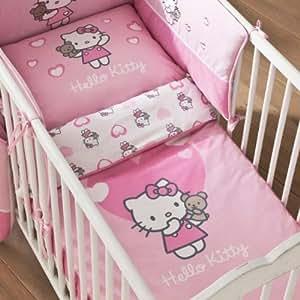 Parure de Lit pour Bébé : Hello Kitty Alice - 80 x 120 cm