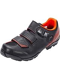 SHIMANO SHME3PG480SO00 - Zapatillas ciclismo, 48, Negro - Naranja, Hombre