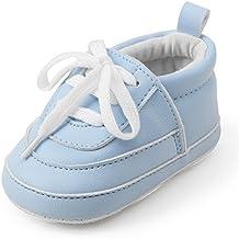 azzurre scarpette neonato