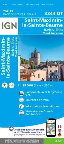 St-Maximin / La Ste-Baume par Institut Géographique National
