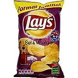 Lay's - Chips cuites au four barbecue - Le sachet de 130g Prix Unitaire - Livraison Gratuit Sous 3 Jours
