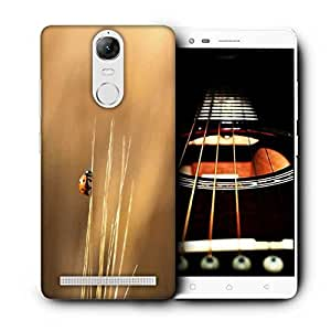 Snoogg Flying Beatel Printed Protective Phone Back Case Cover For Lenovo K5 Note