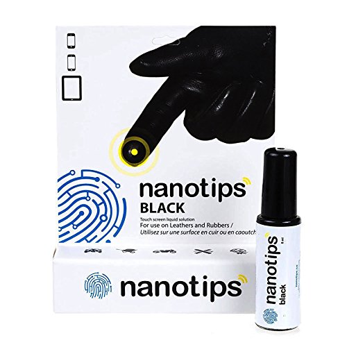 Nanotips Blue Touchscreen Solution for Leather Rubber Gortex Gloves...