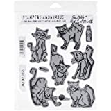 Stampers Anonymous Tim Holtz - Sellos cling (17,78 cm x 21,59 cm)