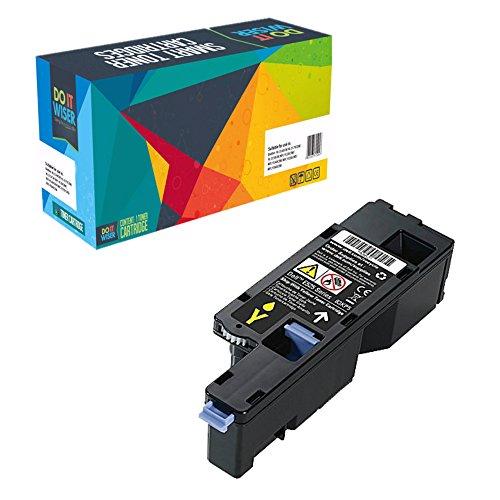Do it Wiser ® Kompatibel Toner Hohe Kapazität für Dell E525w | 593-BBLV (Gelb 1.400 Seiten) (Teilenummer Dell Original)