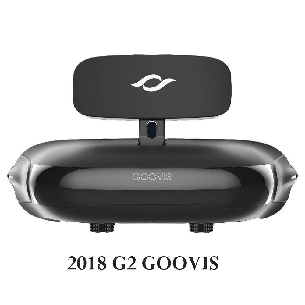 Goovis G2, casque de réalité virtuelle Lunettes 3d VR Headset pour VR Jeux et films 3d HD grand écran Advanced HD 4K Sony M-oled Micro écran