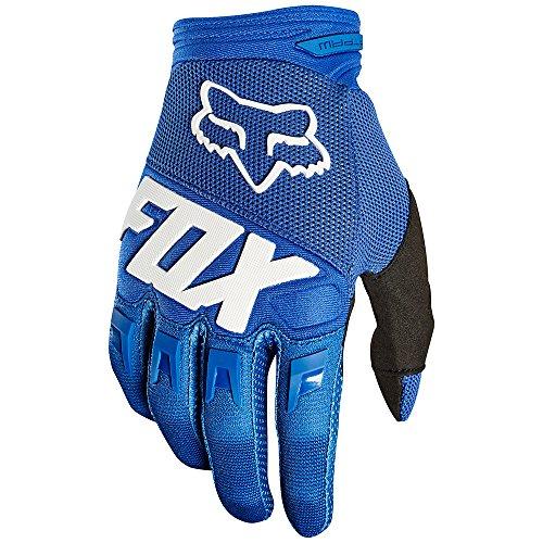 Fox Dirtpaw Race - Guantes Largos Hombre - Azul Talla