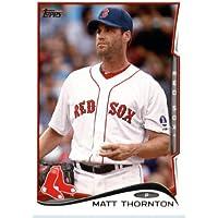 2014 Topps Baseball Card # 289 Matt Thornton Boston Red Sox