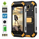 Best Tough Phones - PADGENE V19 Rugged Smartphone Android 6.0 Dual Cameras Review