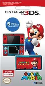 Filtre d'écran et skins 'Super Mario' pour 3DS