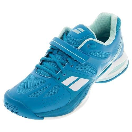 BABOLAT–Propulse All Court Chaussures de Tennis pour Femme–Bleu Bleu - Bleu