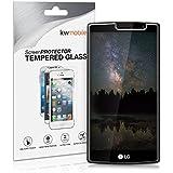 kwmobile Protector de pantalla templado para LG G4 S transparente - Calidad superior