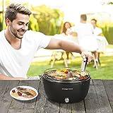 Barbecue a carbone attivo con ventilazione, barbecue, in acciaio INOX, da tavolo, Mobil, camping, Tarrace, senza Spark immagine
