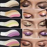 Battnot Lidschatten 6 Paar Instant Eye Shadow Temporäre Makeup Eye Tattoo Aufkleber Eyeshadow (Mehrfarbig)