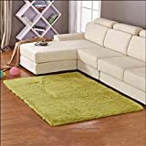 Oudan Carpes modernen europäischen Stil Wohnzimmer Wohnzimmer Schlafzimmer Couchtisch Sofa Dicker Teppich Nachttischmatten gewaschen Couchtisch Nachttischteppich (Farbe: # 4, Größe: 63 * 160cm)