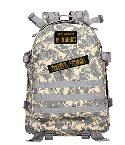 Multi-functional Sports Camouflage Backpack Winner Chicken Dinner Level 3 Backpack Fortnite Equipment Backpack Multicolor