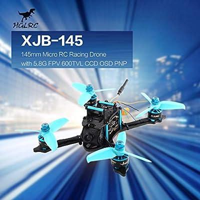 Qewmsg HGLRC XJB-145 145mm Micro RC Racing Drone 5.8G FPV 600TVL Camera CCD OSD PNPD OSD PNP