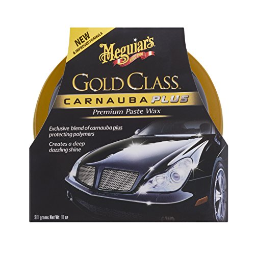 Meguiar\'s G7014EU Gold Class Paste Wax Autowachs, 311g