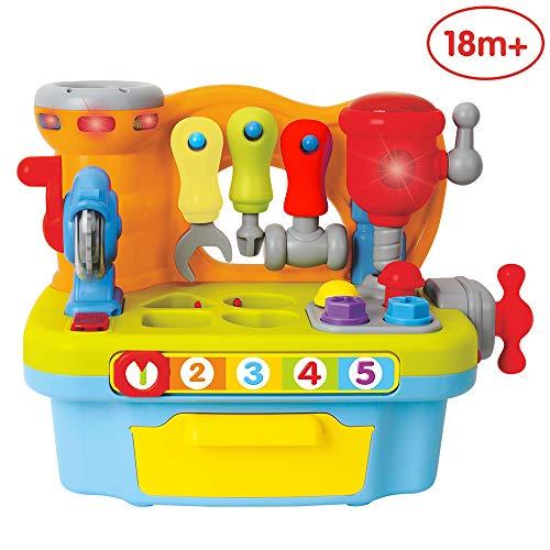 ANIKI TOYS Multifunktional Musik Lernhilfsmittel Werkbank Tue Spielzeug
