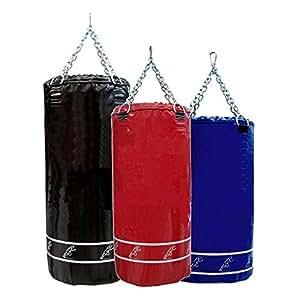 Gana Sport Sacco boxe vuoto personalizzabile riempibile da 20 a 80 kg misure 40 x 100 cm completo di catene - Sacchi Boxe