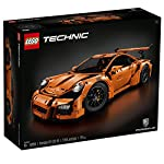 Experience the iconic Porsche 911 GT3 RS with this authentic LEGO® Technic replica. Inside the box you'll discover a special collector's book chronicling the history of LEGO Technic and Porsche GT cars, together with 4 original-design rims bearing th...