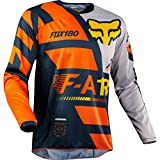 Fox Jersey 180 Sayak, Orange, Größe M
