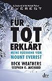 Image de Für tot erklärt: Meine Rückkehr vom Mount Everest