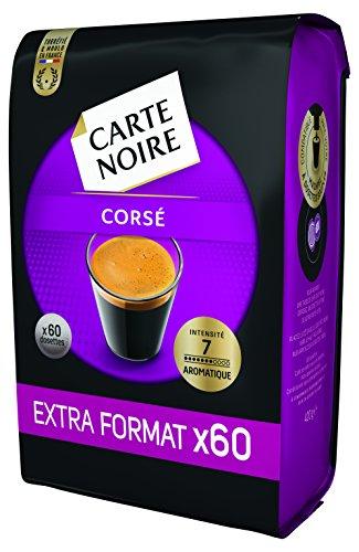 Carte Noire Corsé N°7 Extra Format - 300 Dosettes souples (Lot de 5 X 60)