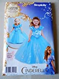 Best Simplicity Costumes - Simplicity 0228 Disney Cinderella Dress Childs Costume Review