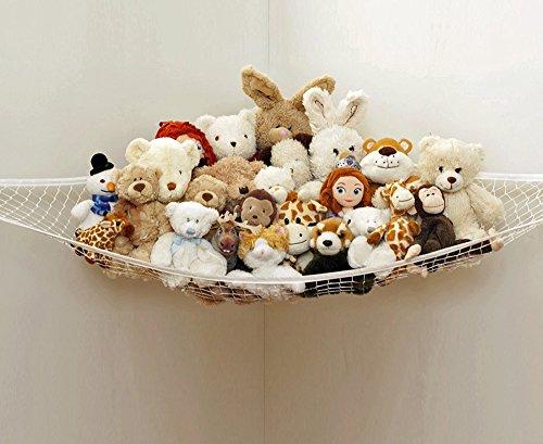Forepin® Leggero Stuffed Animal Hammock e Toy bagagli Net, animale giocattolo Organizzatore Amaca, Giocattolo bagagli Amaca, animali giocattolo bagagli e angolo Organizzatore Pet Holder (180x120x120cm)