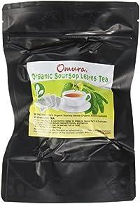 OMURA Organic Soursop Graviola Guanbana Leaves Tea Pack of 25 Bags: SOURSOP TEA-BAG 25
