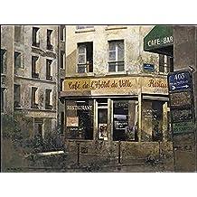 bastidor de cuña - Imagen - chiu TAK HAK : Hotel de Ville 60 x 80cm