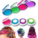LuckyFine 4 Colors Sexy Ladies Girls Temporary Hair Chalk Dye Soft Pastel Women Colour Kit