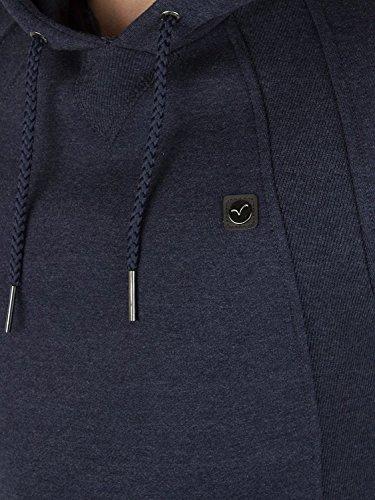 Voi Jeans Herren Orban Logo Hoodie, Blau Blau