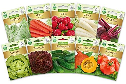 N.L.Chrestensen SET 2 - Gesunder Gemüsegarten Gemüsesaatgut, Mehrfarbig