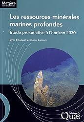 Les ressources minérales marines profondes : Etude prospective à l'horizon 2030