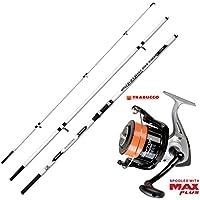 Kit canne et moulinet de pêche Shizuka SH1300420300g Dayton 8000avec fil