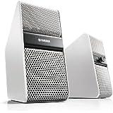 Yamaha NX50WH Enceintes amplifiées pour TV 7 W x 2 Blanc