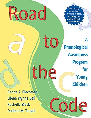 Road to the Code: A Phonological Awareness Program for Young Children by Benita Blachman Ph.D. (2000-01-31)