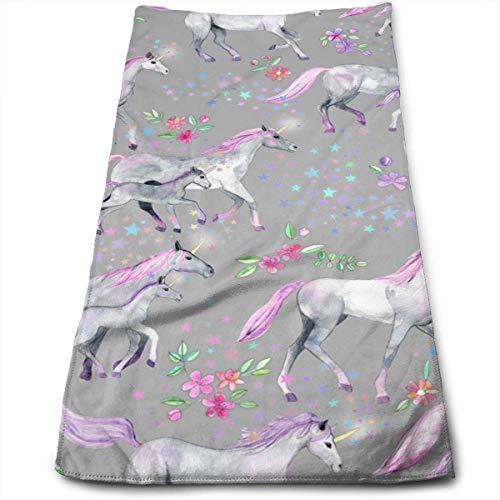 17832feda DAICHAI Unicorns and Stars Cool Towel Beach Towel Instant Cool Ice Towel  Gym Quick Dry Towel