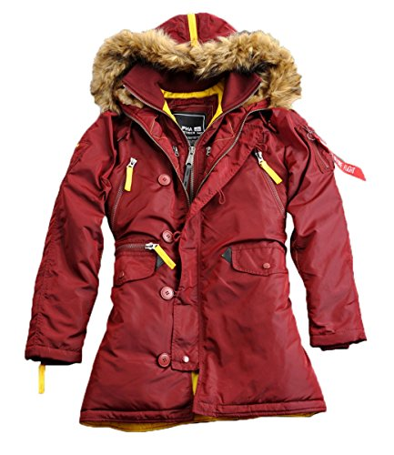 Alpha Industries Jacke PPS N3B Wmn Burgundy