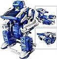 3 in 1 Educational DIY Solar Kit (Transforming Solar Robots) (Blue)