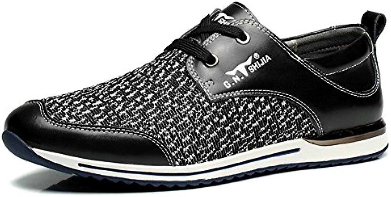 YIXINY Deporte Zapato GH-888285-1 Primavera Y El Verano Nuevo La Moda Transpirable Tejidos De Punto Calzado De...