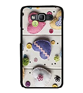 Printvisa Ultra Hearts 2D Hard Polycarbonate Designer Back Case Cover for Samsung Galaxy On7 ...