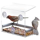 PetFusion Vogelfutterhaus fürs Fenster