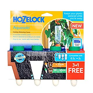 Hozelock Aquasolo 3 Cones 1 Foc Green